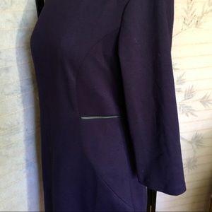 Tahari purple sheath dress 12